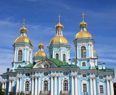 Immagine La Cattedrale di San Nicola si trova a sud del teatro Mariinsky, nel cuore di San Pietroburgo.