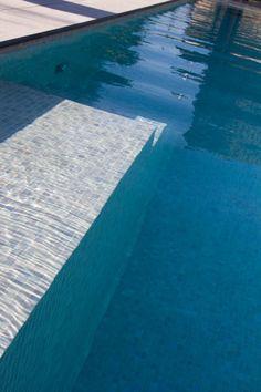 Trap beton zwembad