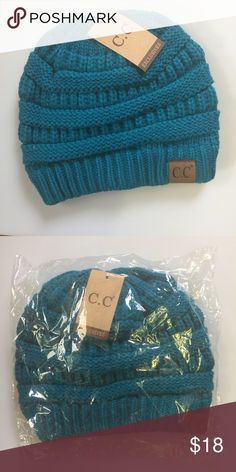 C.C. Beanie. - Brand new. - Teal color. - trades. - PRICE FIRM unless bundled. - Reasonable offers on bundles considered. - Lowball offers will be ignored. Accessories Hats