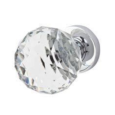 Jedo Plain Ball Glass Door Knob - Polished Chrome at ...