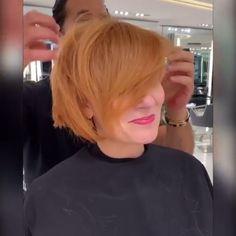Cute Hairstyles For Medium Hair, Short Bob Hairstyles, Medium Hair Styles, Short Hair Styles, Blonde Pixie Haircut, Perfect Blonde Hair, Bridal Hairdo, Hair Color Techniques, Auburn Hair
