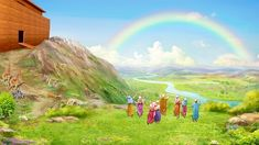 God Makes the Rainbow as a Symbol of His Covenant With Man Empty Words, Destroyer Of Worlds, Finding God, World Images, Gods Plan, S Word, The Covenant, Worship, It Hurts