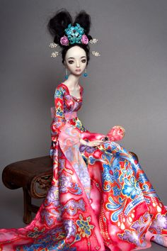 An Enchanted Doll by Marina Bychkova. You can see more of her work at: www.enchanteddoll.com