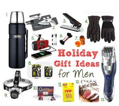 Holiday-Gift-Guide-for-Men | ComfortablyDomestic.com
