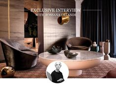 Get Unique Ideas For A Luxury Design Project In CovetED's Issue - From exclusive interviews with renowned interior designers, like Rossana Orlandi or Patri Interior Design Magazine, Interior Design Inspiration, Milan Design, Design Trends, Top Interior Designers, Elle Decor, Best Interior, Design Projects, Cool Designs