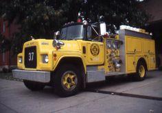 Mack fire apparatus