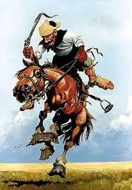 Imagen relacionada Western Art, Western Cowboy, Horse Cartoon, Cowboy Art, Rio Grande Do Sul, Cowgirl Style, Dory, Wilderness, Cowboys