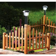fence corner garden ideas - Google Search