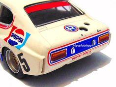 Ford Capri 2600 LV Pepsi Spa 1973 by SRC Capri Tour, Slot Cars, Race Cars, Ford Capri, Mk1, Pepsi, Euro, Classic Cars, Racing