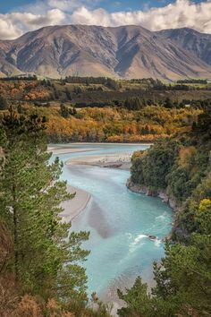 Rakaia River at Rakaia Gorge, Canterbury Region, New Zealand - Tap the link to see the newly released survival and traveling gear for all types of travelers! Visit New Zealand, New Zealand Travel, Places To Travel, Places To See, Travel Destinations, Wonderful Places, Beautiful Places, Nature Photography, Travel Photography