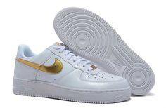 Jouir Nike Air Force 1 Low Homme Gold Blanc [d21X] pas cher à la recherche d'