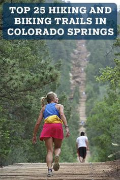 Include these 25 hikes in your Colorado Springs travel plans...Perfect for spring and summer visits!