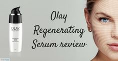 The Olay Regenerating Serum is a hard working product which works to regenerates surface cells while restoring skin's elasticity with plumping hydration