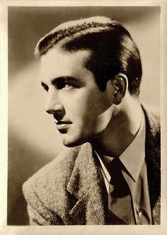John Payne sepia portrait. Hollywood Men, Vintage Hollywood, Classic Hollywood, Vintage Gentleman, Vintage Men, John Payne, Miracle On 34th Street, Most Handsome Actors, Classic Movie Stars