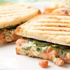spicy grilled cheese and other healthy sandwiches