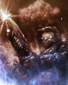 """""""The Master Chief"""" by Casey Callender #game #gamers #games #video #video-game"""
