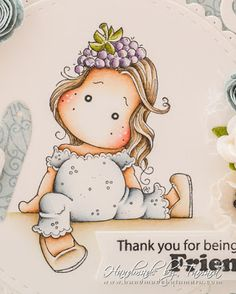Magnolia Colors, Hobby House, Magnolia Stamps, Marker Art, Digi Stamps, Cute Characters, Copics, Cute Art, Ephemera