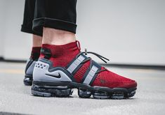Nike Vapormax Utility Patriots Release Date #thatdope #sneakers #luxury #dope #fashion #trending Dope Fashion, Fashion Outfits, Men's Outfits, Casual Outfits, Nike Air Vapormax, Nike Basketball Shoes, Nike Shoes, Nike Free, Running Shoes