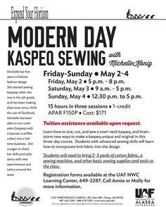 sewing, #Alaska