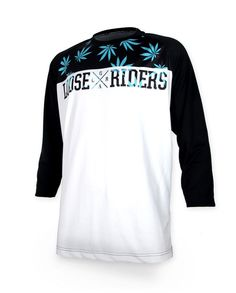 Loose Riders Herren LEAVES Jerseys 3/4 arm.Sportwear,Bike,Radsport Style