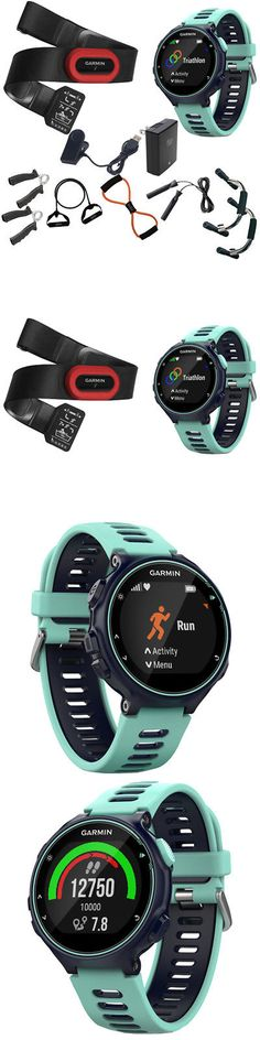 GPS and Running Watches 75230: Garmin Forerunner 735Xt Gps Running Watch Bundle Blue + 7-In-1 Fitness Kit -> BUY IT NOW ONLY: $469.99 on eBay!