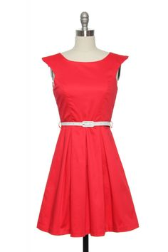 Just Like Judy Jetson Dress in Red | Vintage, Retro, Indie Style Dresses  http://www.laceaffair.com/just-like-judy-jetson-dress-in-red/