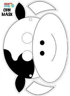See 8 Best Images of Free Printable Cow Mask. Printable Cow Mask Template Printable Cow Mask Template Cow Mask Template for Kids Free Printable Cow Mask Template Printable Cow Mask Farm Animal Crafts, Farm Crafts, Preschool Crafts, Farm Animals, Animal Masks For Kids, Mask For Kids, Kids Cow Costume, Cow Costumes, Printable Cow Mask