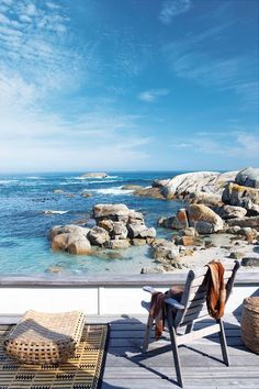 Seaside Deck, Capetown, South Africa. #travel
