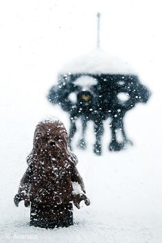 Amazing Lego on Hoth photos from Avanaut