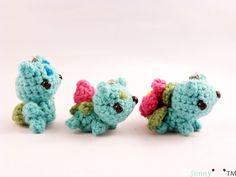 Les pokémons sont de retour avec cette évolution: bulbizarre, herbizarre et florizarre, tous plus mignon les uns que les autres.