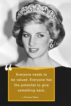 "12 Princess Diana Quotes that Prove She Will Always be the ""People's Princess"" Great Person Quotes, Love Me Quotes, Cute Quotes, Quotes To Live By, Style Quotes, Encouragement Quotes, Wisdom Quotes, Famous Women Quotes, Princess Diana Quotes"