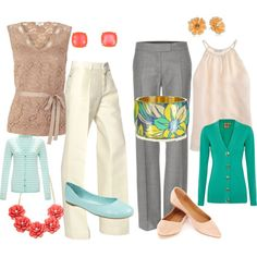"""""""What to Wear to Work"""" by kellylzachary on Polyvore"""