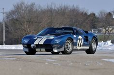 ✨ Ford GT Prototyp - Baujahr 1964, Auktionshaus Mecum Versteigert in Houston, USA, für 7,56 Millionen Dollar (Foto: classic-analytics; Foto: Mecum Auctions)