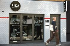 Fika exterior brand identity | Designer: Designers Anonymous