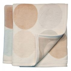 Bocasa Thermosoft Top Spots Woven Throw Blanket by None, via Polyvore