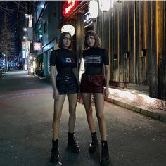 Tokio style, left or right? Simi Haze, Classy Outfits, Cute Outfits, Khadra, Swag Style, Grunge Style, Aesthetic Fashion, Urban Aesthetic, Street Style Women