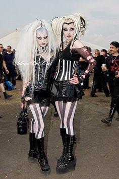 Adora Batbrat and Iva Insane Jenni at Mera Luna Festival