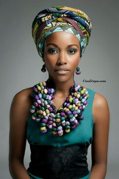 AFROCENTRIC ACCESSORY BY FRENCH DESIGNER TOUBAB PARIS | CIAAFRIQUE ™ | AFRICAN FASHION-BEAUTY-STYLE