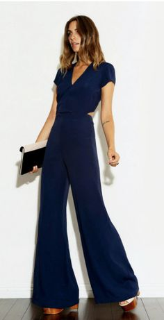 Long and lean machine.  Reformation's STALK JUMPER  http://thereformation.com/STALK-JUMPER-NAVY.html