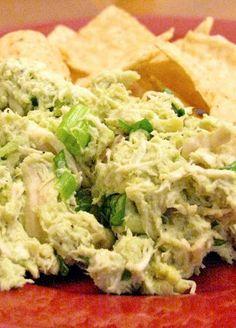 Avocado Chicken Salad! No mayo super healthy