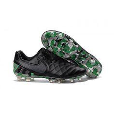 info for 54a46 e8aff Comprar tenis de futbol Nike Tiempo Legend VI FG Negras Verdes Tienda  Online Hombre Verde,