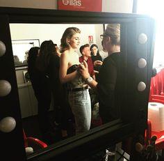 Dal backstage dell'ultimo shooting con la modella @crilosyuk 👩 make-up and hair: @luisadionisimakeupartist 💄 Docente di Fotografia: Pierluigi De Simone Co-docente: Fabio Chiaese Organizzazione generale: Simona Mancini