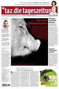Das neue Schweinesystem: Die deutsche Fleischindustrie ist von Skandalen geprägt.  Ein neues Siegel für artgerechter erzeugtes Fleisch soll die Verbraucher überzeugen. Der Tierschutzbund kooperiert dafür mit den Großkonzernen.  http://taz.de/Fleisch-aus-Massentierhaltung/!109078/