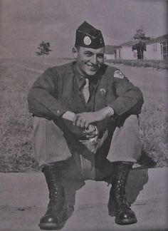 Andy Carrico is pictured as a paratrooper at Fort Polk, La. before he was shipped to the Pacific Theatre of Operations with the Airborne Regiment during World War II. Don Moore, Leyte, History Projects, Paratrooper, World Photo, United States Army, World War Ii, Ww2, Faces