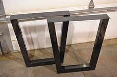 Metal Table Legs, Tapered Style - Any Size and Color!