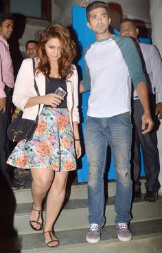 Huma Qureshi with brother Saqib Saleem spotted at Olive. #Bollywood #Fashion #Style #Beauty