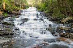 North of Atlanta, Georgia's terrain rolls, tumbles and climbs over the southern stretches of the Appalachian Mountains. Streams, creeks and rivers…