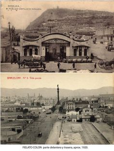 Burots de Colon1920 Housing Works, Antoni Gaudi, Madrid, Medieval Castle, Best Cities, Capital City, Paris Skyline, Taj Mahal, Spain