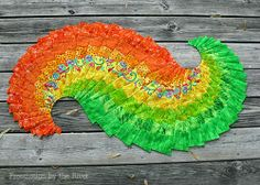 Spicy Spiral Table Runner at Freemotion by the River