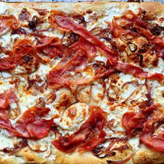 Let's face it: I have a list of favorite pizzas so long, it stretches out the front door and well into our north pasture. This is but one of the thousands of pizzas I have known and loved; it's com...